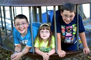 Nathaniel, Mackenzie, Zachary
